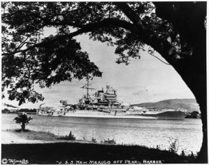 USS New Mexico - Pearl Harbor 5x6