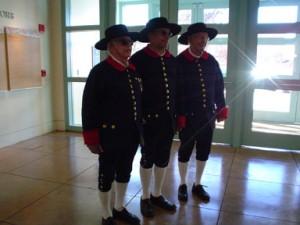 George C. Garcia, Charles Martinez y Vigil and Gene Tomlinson