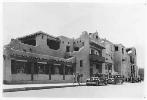 Edward Kemp photo of La Fonda, 1929. Palace of the Governors Photo Archives #046955.