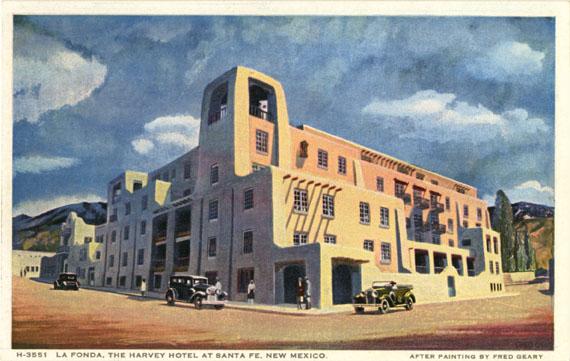 La Fonda Hotel Santa Fe Nm