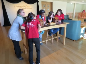 Girls inc girls learn about camera obscura